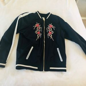 Girls bomber jacket from forever 21
